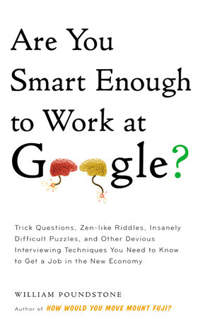 Are You Smart Enough to Work at Google?