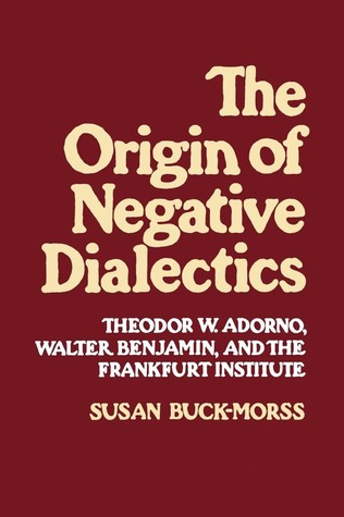 The Origin of Negative Dialectics: Theodor W. Adorno, Walter Benjamin, and the Frankfurt Institute