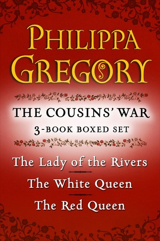 Philippa Gregory's The Cousins' War 3-Book Boxed Set: The Red Queen, The White Queen, and The Lady of the Rivers