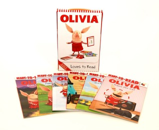 OLIVIA Loves to Read: Set of 6 Books
