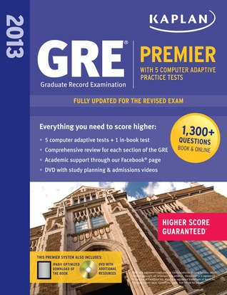 KAPLAN GRE PREMIER 2012 DOWNLOAD
