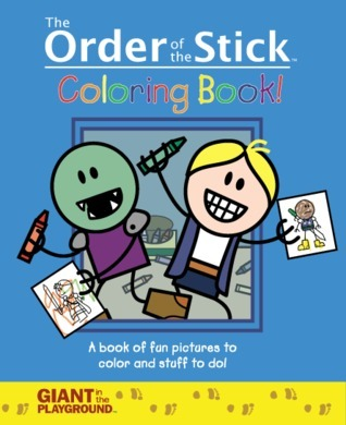 The Order of the Stick Coloring Book!