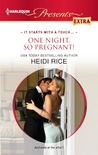 One Night, So Pregnant! (Brothers & Sisters, #4)