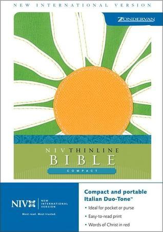 Niv Compact Thinline Bible Sea