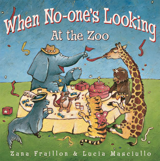 When No-one's Looking at the Zoo