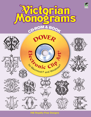 Victorian Monograms CD-ROM and Book by Dover Publications Inc.