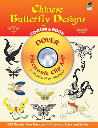 Chinese Butterfly Designs CD-ROM and Book