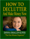 How to De-clutter and Make Money Now