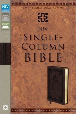 Single-Column Bible-NIV