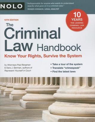 Criminal Procedure Handbook 10th Edition Pdf