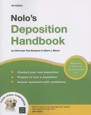 Nolos deposition handbook by paul bergman 1735988 solutioingenieria Image collections