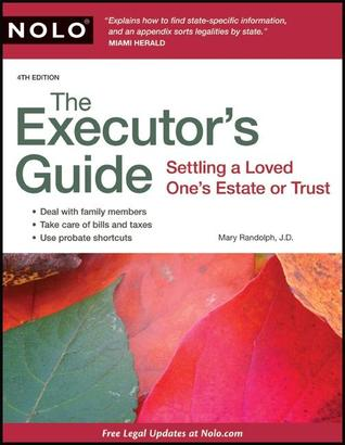 Executor's Guide, The by Mary Randolph