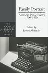 Family Portrait: American Prose Poetry 1900 - 1950