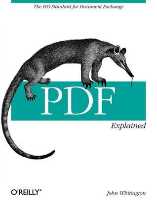 PDF Explained by John Whitington