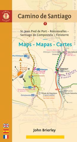 Camino de santiago maps mapas cartes st jean pied de port 15806465 gumiabroncs Image collections