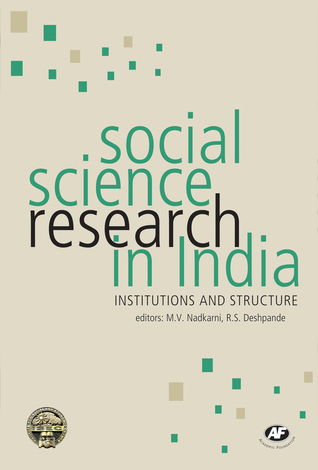 Social Science Research in India: Institutions and Structure