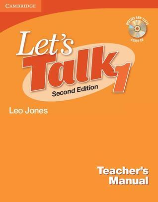 Let's Talk 1 Teacher's Manual [With Quizzes & Tests Audio CD]