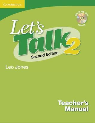 Let's Talk Teacher's Manual 2 with Audio CD [With CD]