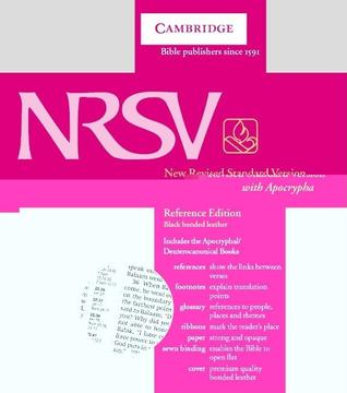 Holy Bible: NRSV Reference Edition with Apocrypha Black bonded leather NRA22 (Bible Nrsv)