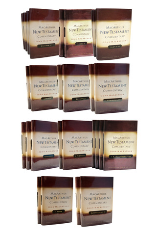 The MacArthur New Testament Commentary Set of 31 volumes(MacArthur New Testament Commentary Series)