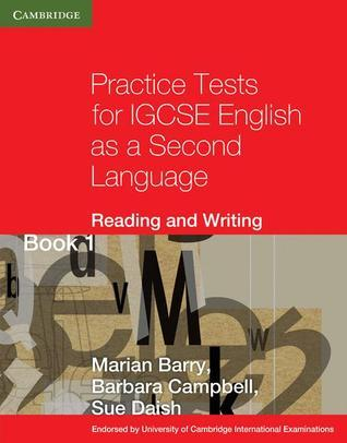Practice Tests for IGCSE English as a Second Language: Reading and Writing Book 1