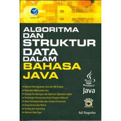 Algoritma dan  Struktur Data dalam Bahasa Java