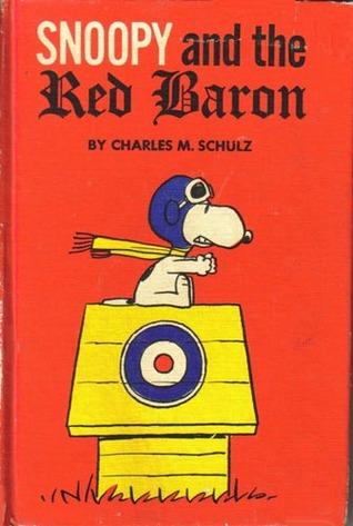 portada del cómic Snoopy y el Barón Rojo