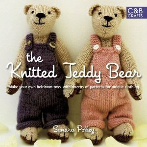 The Knitted Teddy Bear by Sandra Polley