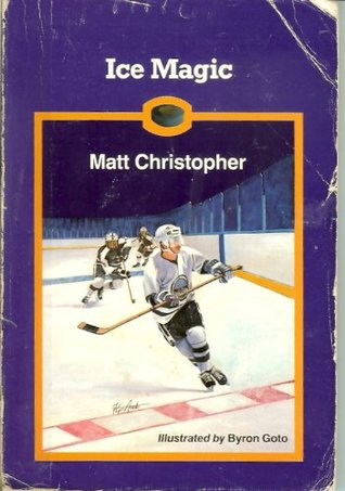 ice magic a book recommendation to anyone who loves hockey written by matt christopher