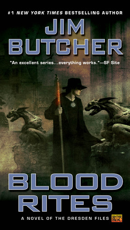Blood Rites by Jim Butcher