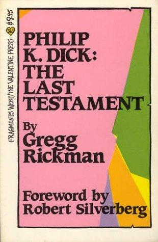 Philip K. Dick by Philip K. Dick