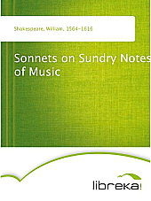 Sonnets on Sundry Notes of Music