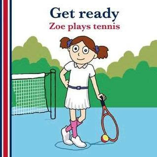 Get ready: Zoe plays tennis