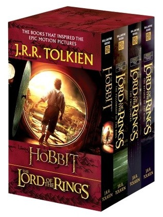J R R Tolkien Book Boxed Set The Hobbit and The Lord of the Rings