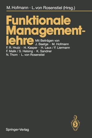 Funktionale Managementlehre