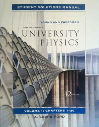 Student Solutions Manual for University Physics, Volume 1: Chapters 1-20