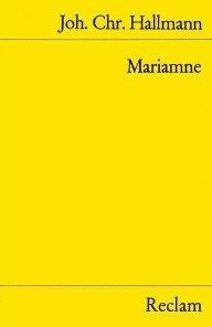 Mariamne. Trauerspiel