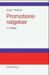 Promotionsratgeber by Andreas Preißner