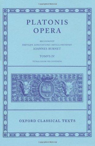 Clitopho/Respublica/Timaeus/Critias (Platonis Opera, #4)