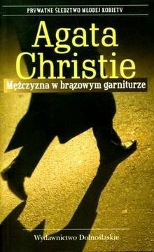Mężczyzna w brązowym garniturze by Agatha Christie