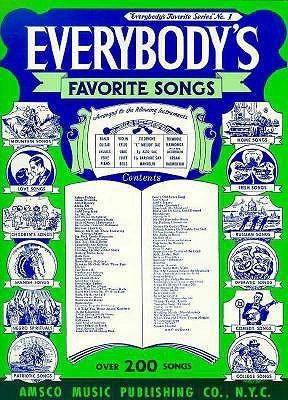 Everybody's Favorite Songs: P/V/G