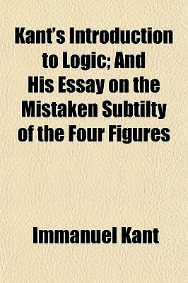 Introduction to Logic/On the Mistaken Subtilty of the Four Figures