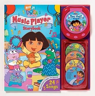 Nick JR. Dora the Explorer Music Player and Storybook (Music Player Storybook)