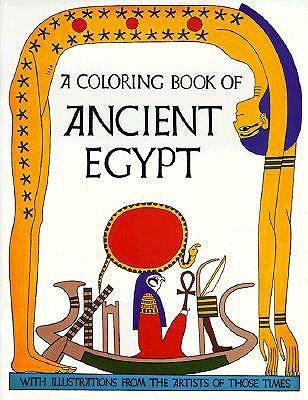 A coloring book of ancient Egypt by Bellerophon Books