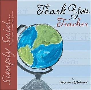 Thank You Teacher Little Gift Book