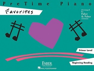 Pretime Piano, Primer Level (Beginning Reading): Favorites