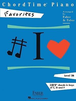 ChordTime Piano, Level 2B: Favorites