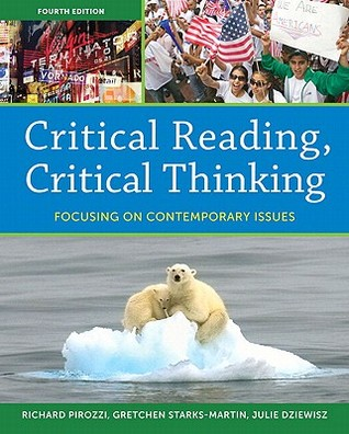 Critical Reading Critical by Pirozzi   Direct Textbook