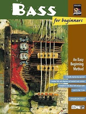 Bass for Beginners & Rock Bass for Beginners: An Easy Beginning Method, Book & DVD