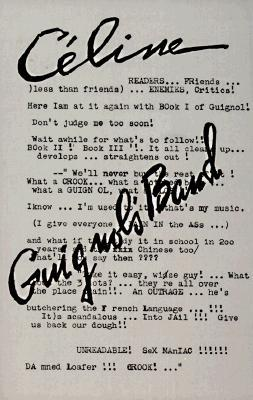 Guignol's Band by Louis-Ferdinand Céline